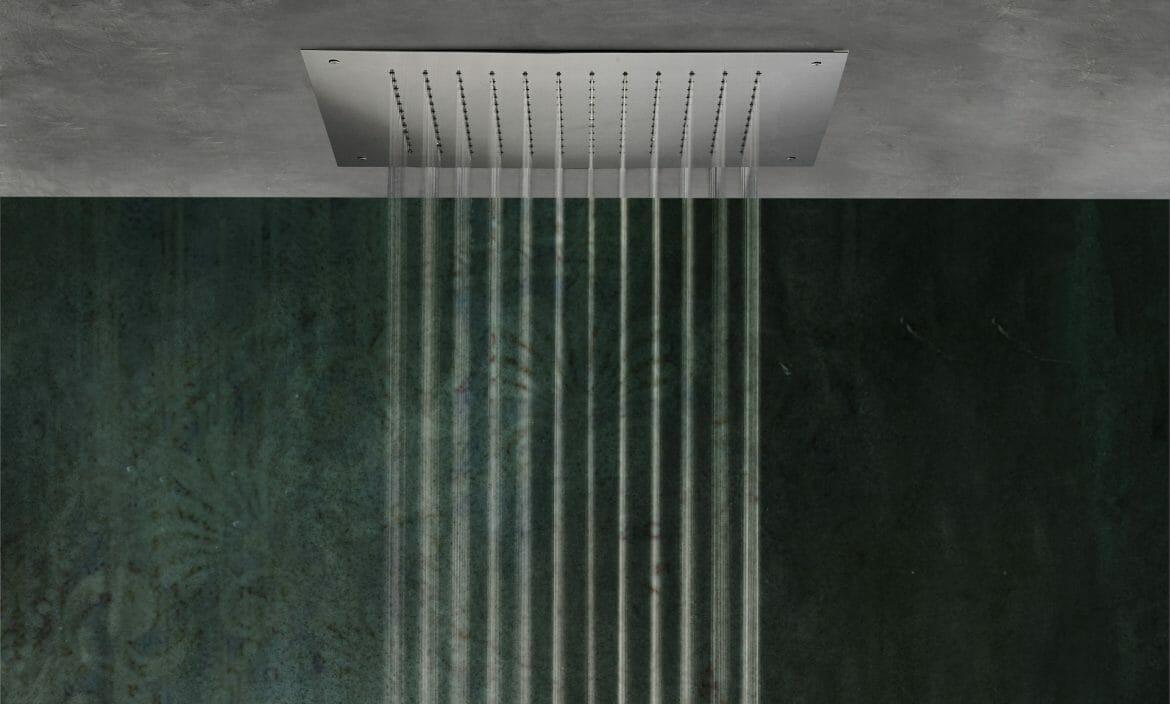 Mariner Rubinetterie showerhead for concealed installation
