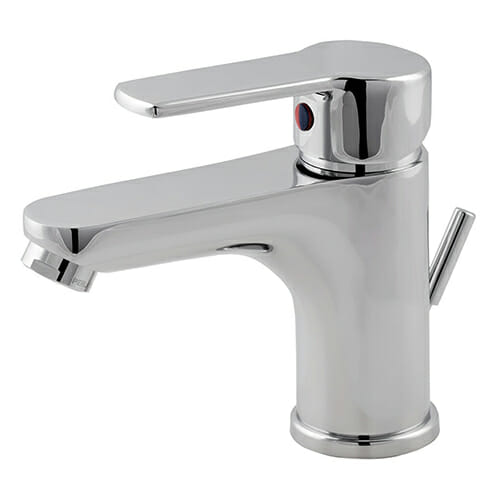 Wash basin mixer with automatic pop-up waste Alta series ALT0050-CR
