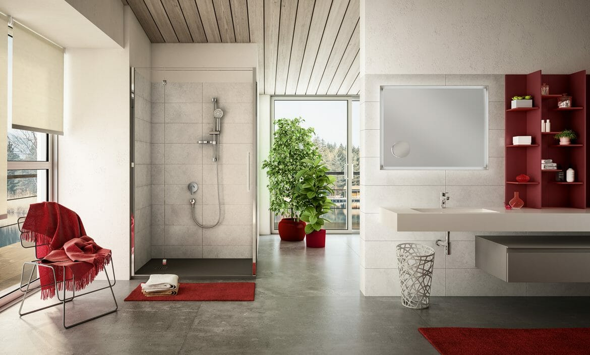 Elegant bathroom collection ALTA range Mariner Rubinetterie
