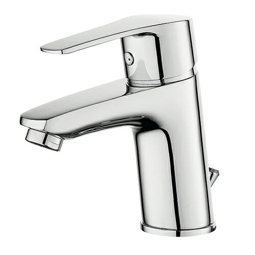 Wash basin mixer with automatic pop-up waste GEMMA series GEM0050-010