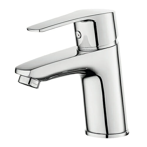 Washbasin mixer without automatic pop-up waste GEMMA series GEM0053-010