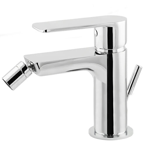 Bidet mixer with automatic pop-up waste Magica MAG0060-CR +
