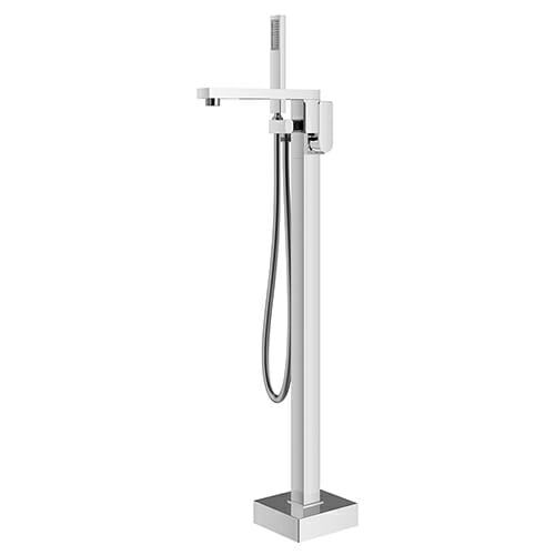 Floor mounted bath mixer with shower kit Magica series MAG0090-CR