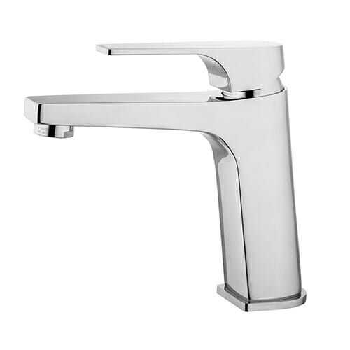 Washbasin mixer with automatic pop-up waste Storm range STO0050-CR