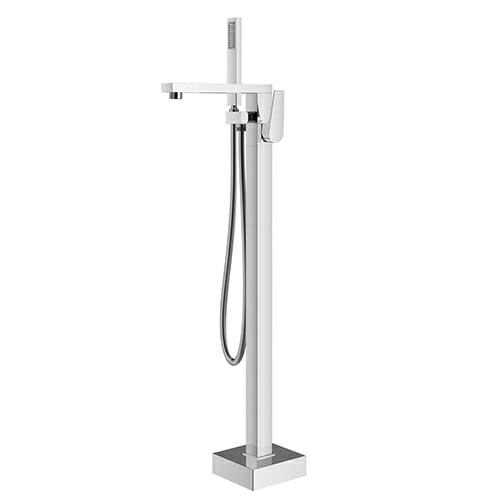 freestanding bath mixer with shower kit Storm STO0090-CR