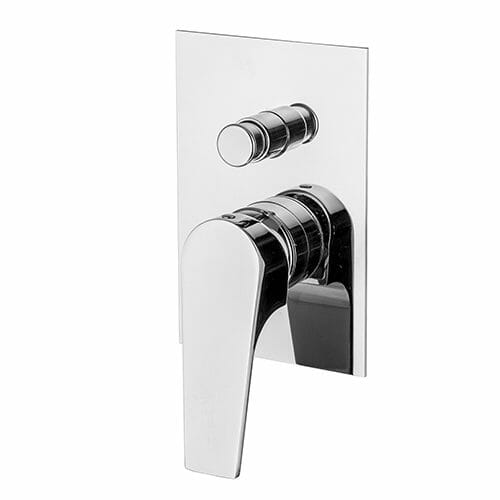 Complete set for built-in mixer with diverter Storm series STO1001-CRINT0036-CR