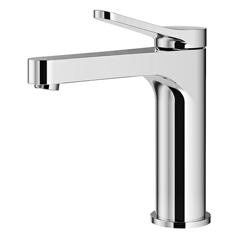 Single lever washbasin mixer with automatic pop-up waste KOBRA series KOB0050-CR