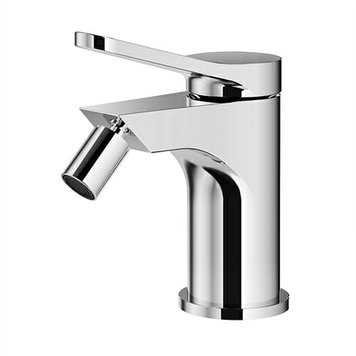 single lever bidet mixer with automatic pop-up waste KOBRA series KOB0060-CR