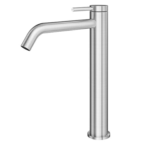316 Stainless Steel Single lever high washbasin mixer without waste LOGICA INOX LOX0052-IN