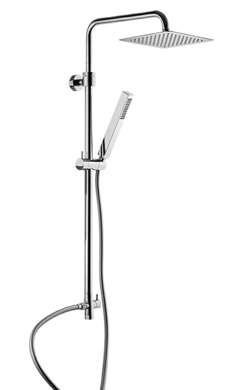 Shower column with mixer connection WLS6000-CR