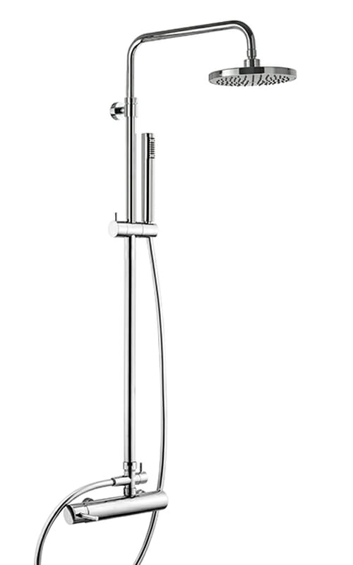 Shower column with shower mixer WLS6400-CR
