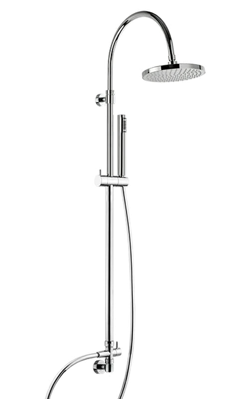 Shower column with wall water outlet WLS7100-CR
